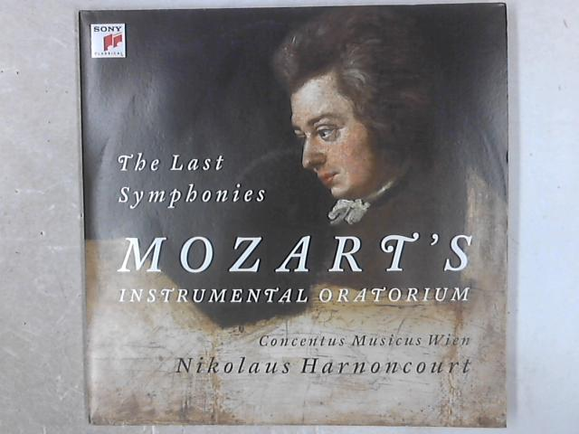 The Last Symphonies // Mozart's Instrumental Oratorium 3xLP By Wolfgang Amadeus Mozart
