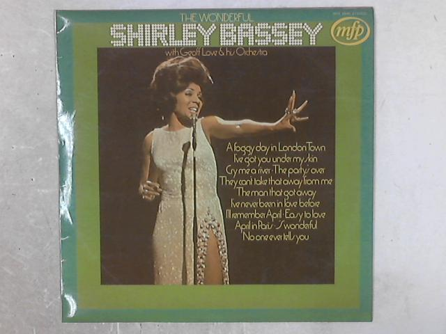 The Wonderful Shirley Bassey LP By Shirley Bassey