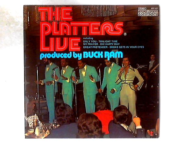 Live LP By The Platters