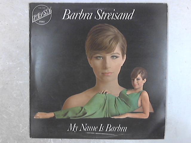 My Name Is Barbra LP By Barbra Streisand