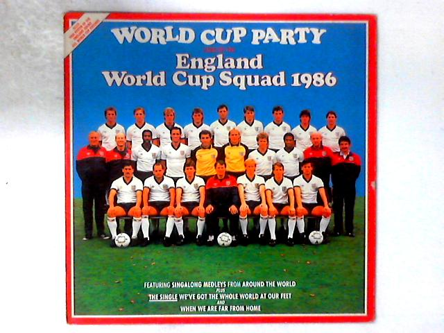 World Cup Party LP By England World Cup Squad 1986