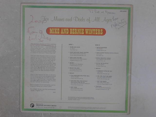 For Mums & Dads of All Ages SIGNED LP By Mike & Bernie Winters