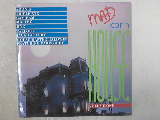 Mad On House Volume One COMP LP By Various