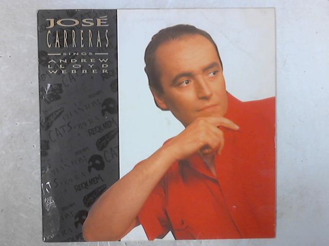 José Carreras Sings Andrew Lloyd Webber LP By José Carreras