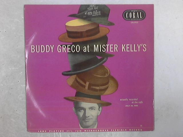 Buddy Greco At Mister Kelly's LP By Buddy Greco