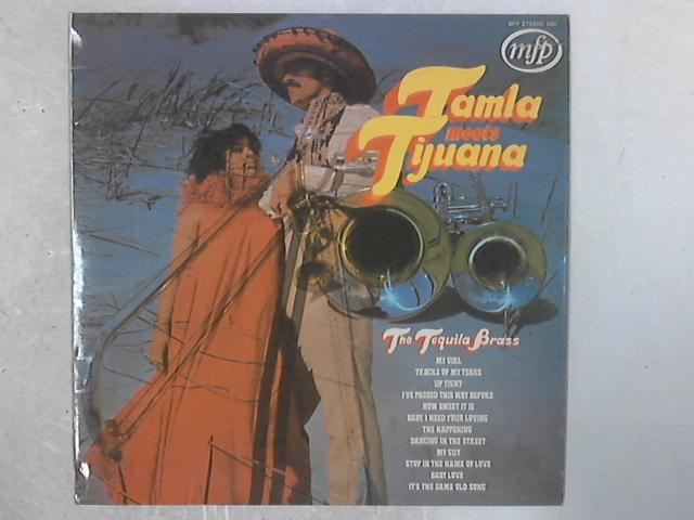 Tamla Meets Tijuana LP by Tequila Brass