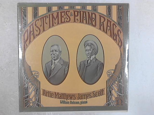 Pastimes & Piano Rags SEALED LP By William Bolcom