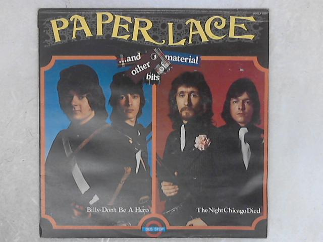 ...And Other Bits Of Material LP By Paper Lace
