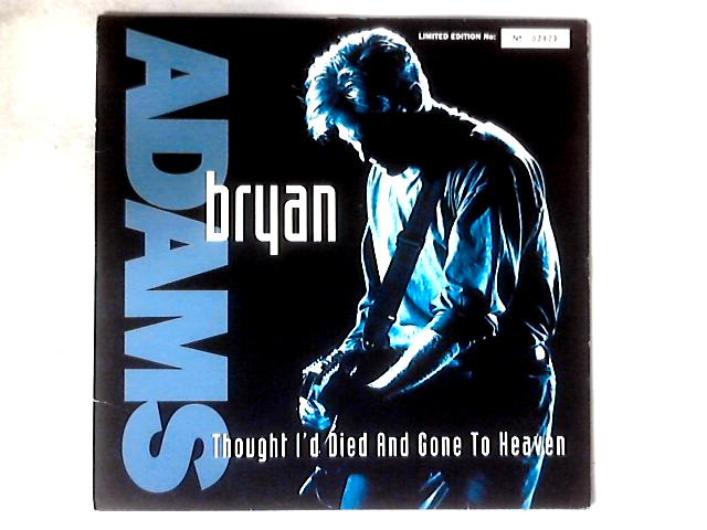 Thought I'd Died And Gone To Heaven 12in SILVER LIMITED EDITION GATEFOLD By Bryan Adams