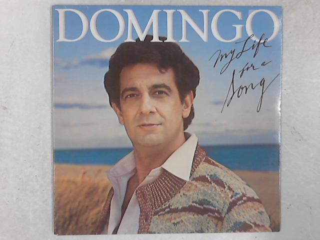 My Life For A Song LP By Placido Domingo