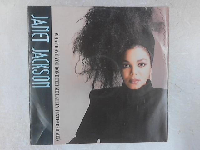 What Have You Done For Me Lately 12in Single By Janet Jackson