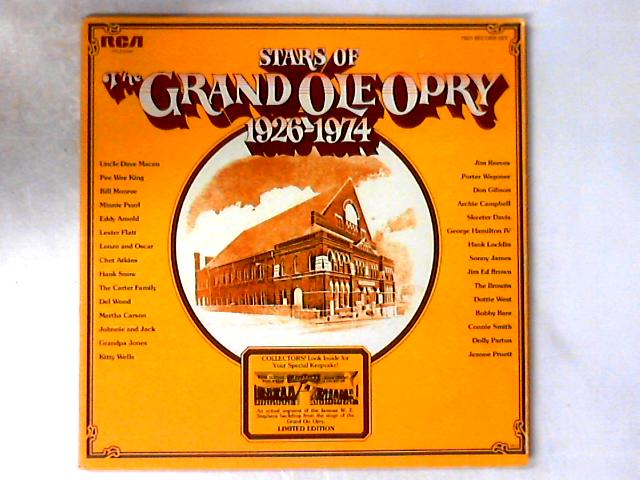 Stars Of The Grand Ole Opry 1926-1974 2xLP GATEFOLD by Various