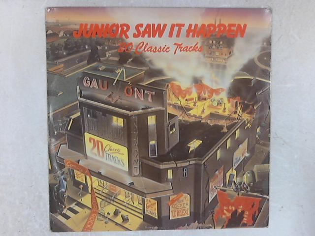 Junior Saw It Happen - 20 Classic Tracks COMP LP By Various