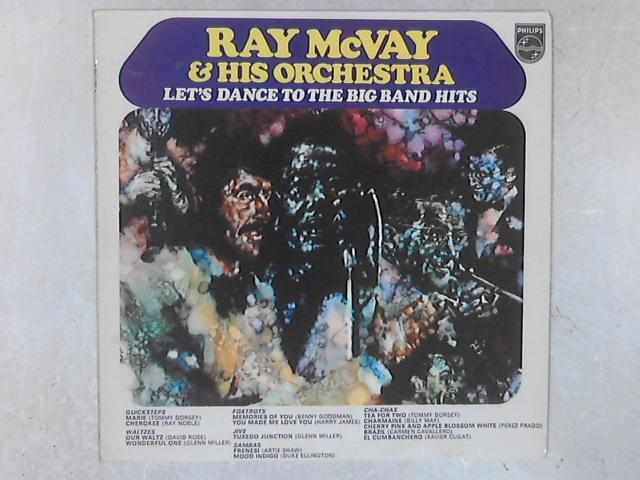 Let's Dance To The Big Band Hits LP by Ray McVay & His Orchestra