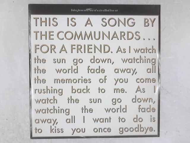 For A Friend 12in Single By The Communards