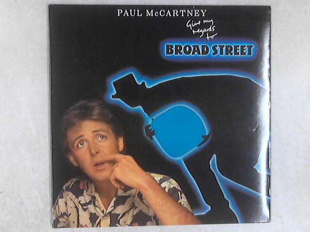 Give My Regards To Broad Street LP By Paul McCartney