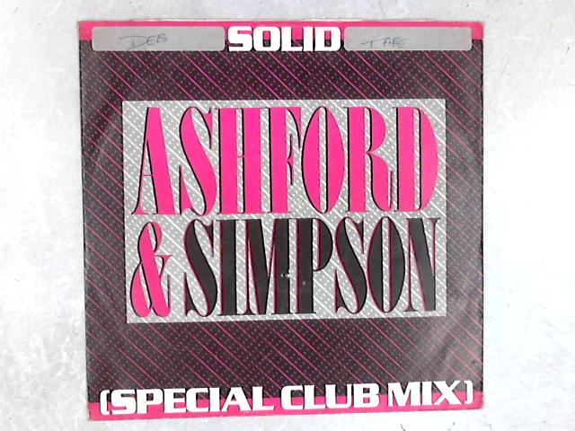 Solid (Special Club Mix) 12in Single By Ashford & Simpson