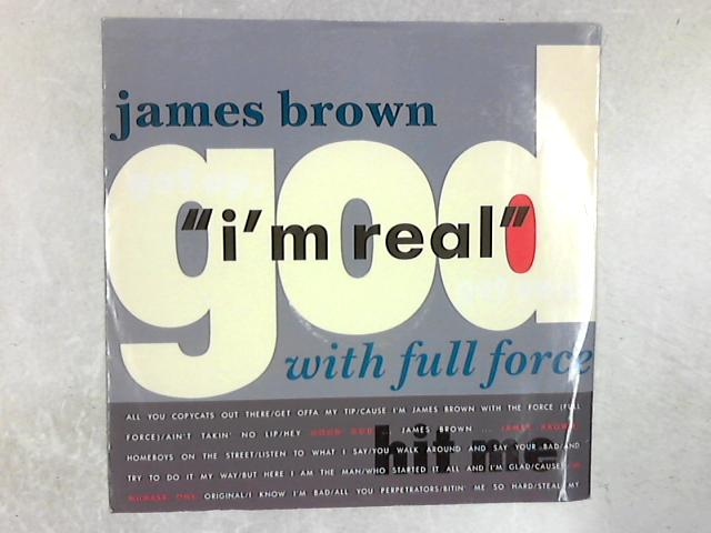 I'm Real 12in Single By James Brown