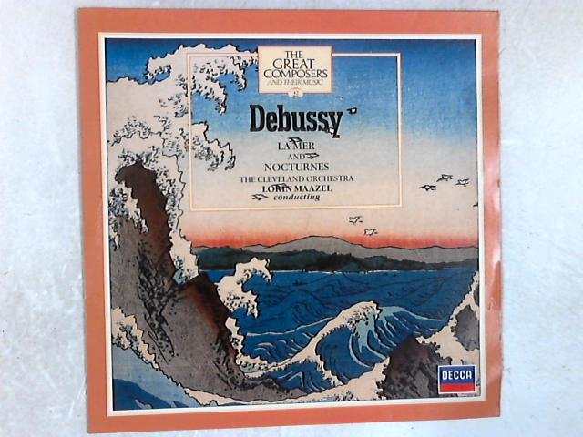La Mer And Nocturnes LP by Claude Debussy