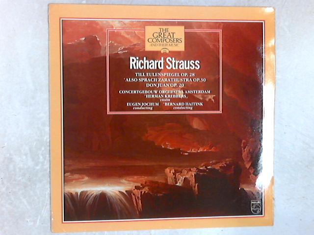 Till Eulenspiegel Op. 28 / Also Sprach Zarathustra Op. 30 / Don Juan Op. 20 LP By Richard Strauss