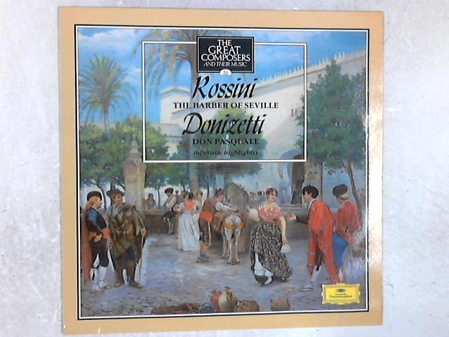The Barber Of Seville / Don Pasquale LP By Gioacchino Rossini