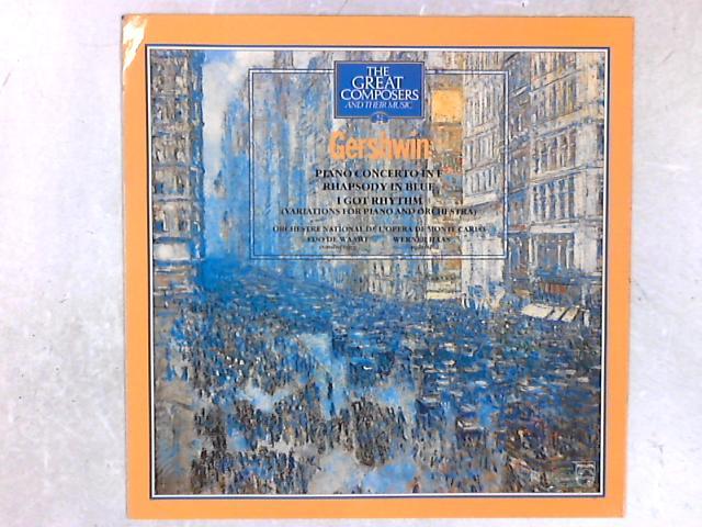 Piano Concerto In F. Rhapsody In Blue I Got Rhythm LP by George Gershwin