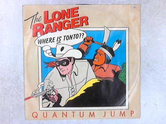 The Lone Ranger 12in Blue Vinyl Single By Quantum Jump