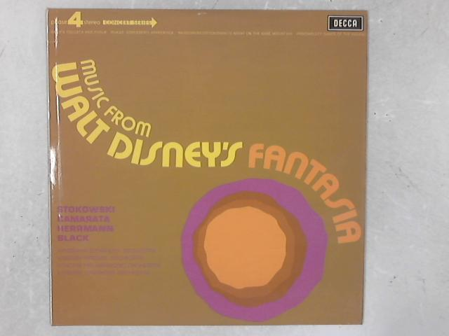 Music From Walt Disney's Fantasia LP by Leopold Stokowski
