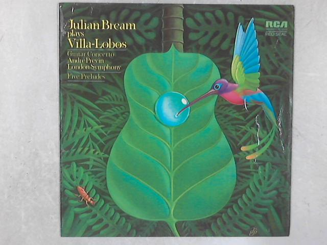 Guitar Concerto / Five Preludes LP by Julian Bream