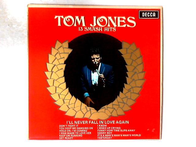 13 Smash Hits LP COMP By Tom Jones