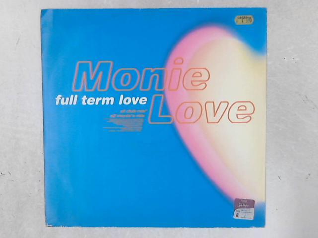 Full Term Love 12in Single By Monie Love