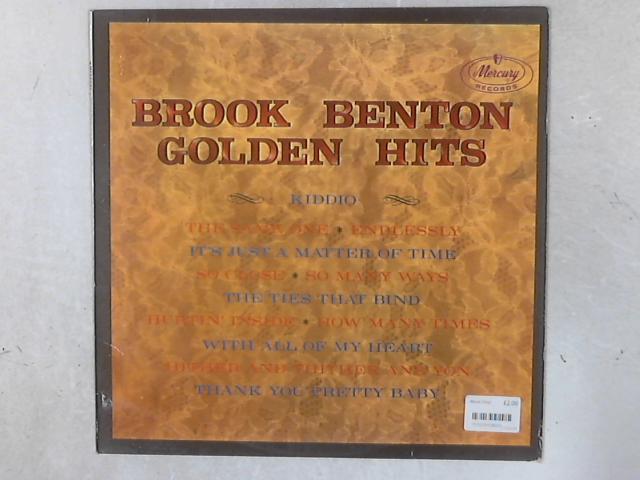 Golden Hits LP by Brook Benton