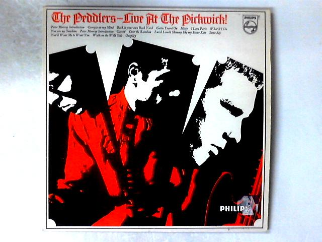 Live At The Pickwick! LP by The Peddlers