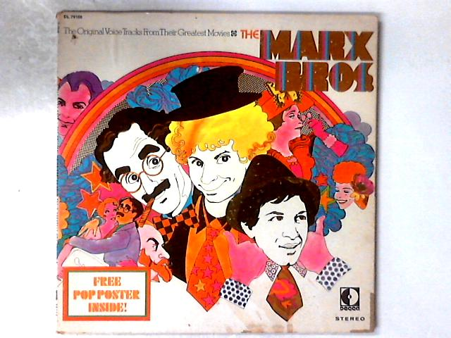 The Original Voice Tracks From Their Greatest Movies LP GATEFOLD POSTER NOT INCLUDED By The Marx Brothers