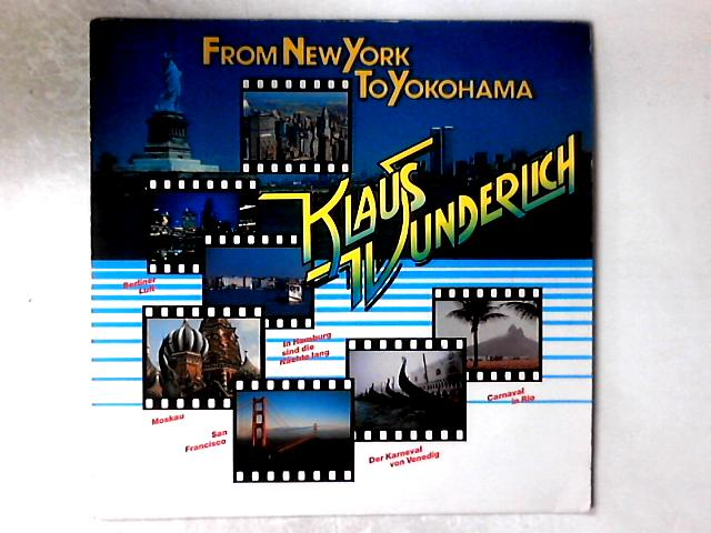 From New York To Yokohama LP by Klaus Wunderlich