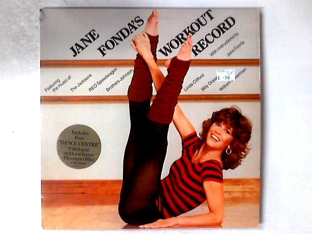 Jane Fonda's Workout Record 2xLP GATEFOLD by Jane Fonda