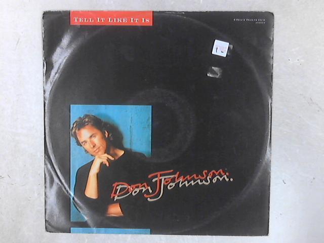 Tell It Like It Is 12in Single By Don Johnson