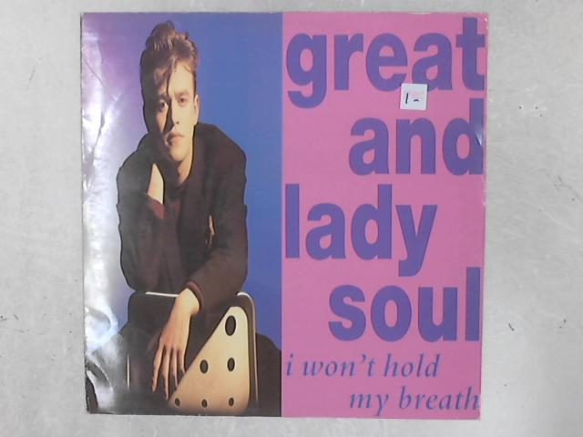 I Won't Hold My Breath 12in Single By Great & Lady Soul