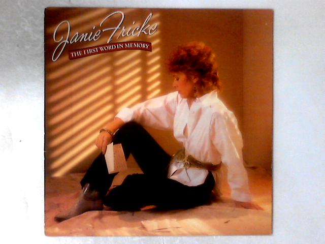 The First Word In Memory LP By Janie Fricke