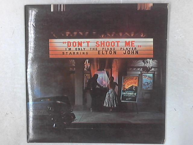 Don't Shoot Me I'm Only The Piano Player LP By Elton John