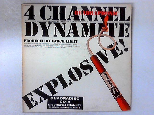 4 Channel (Quadraphonic) Dynamite LP GATEFOLD By Enoch Light