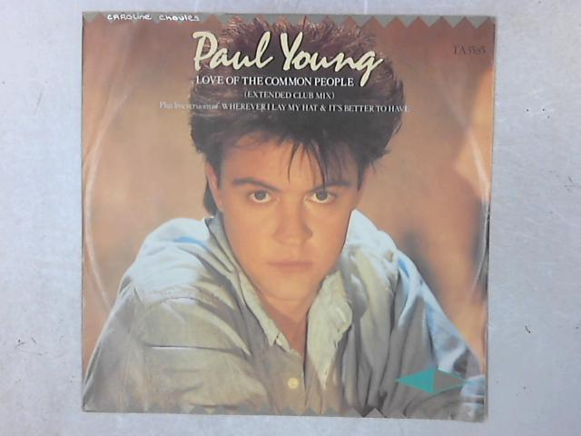 Love Of The Common People (Extended Club Mix) 12in Single By Paul Young