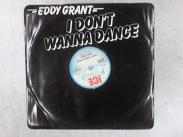 I Don't Wanna Dance 12in Single By Eddy Grant