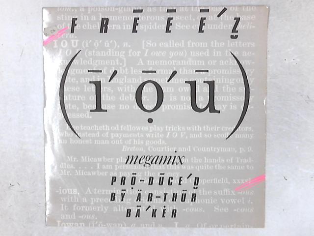 I.O.U. (Megamix) 12in Single By Freeez