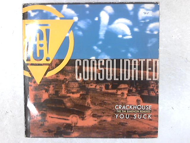 You Suck / Crackhouse 12in Single By Consolidated