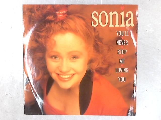 You'll Never Stop Me Loving You 12in Single By Sonia