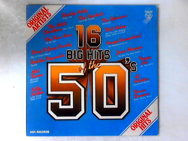 16 Big Hits Of The 50's LP COMP By Various
