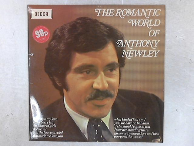 The Romantic World Of Anthony Newley LP By Anthony Newley