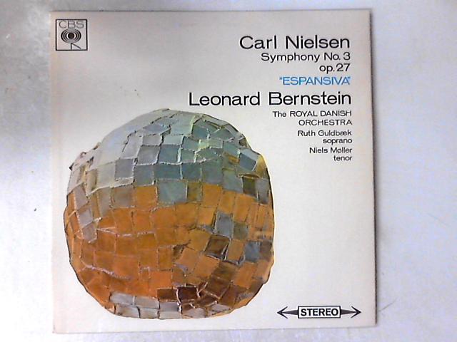 "Symphony No. 3, Op. 27 ""Espansiva"" LP By Carl Nielsen"
