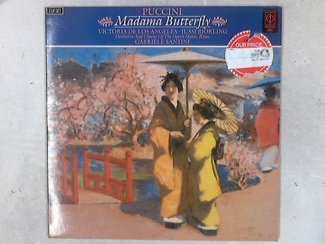 Madama Butterfly 2xLP By Giacomo Puccini